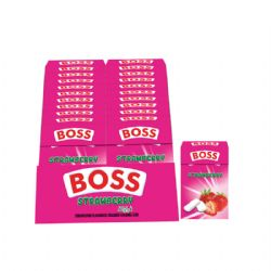 Boss Strawberry Flavored Dragee 15g