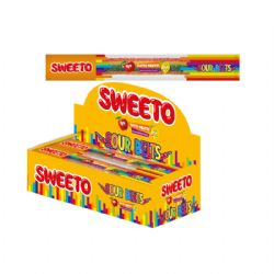 Sweeto Sour Belts Rainbow 8g