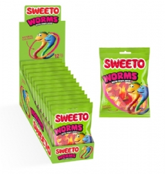 Sweeto Worms 80g