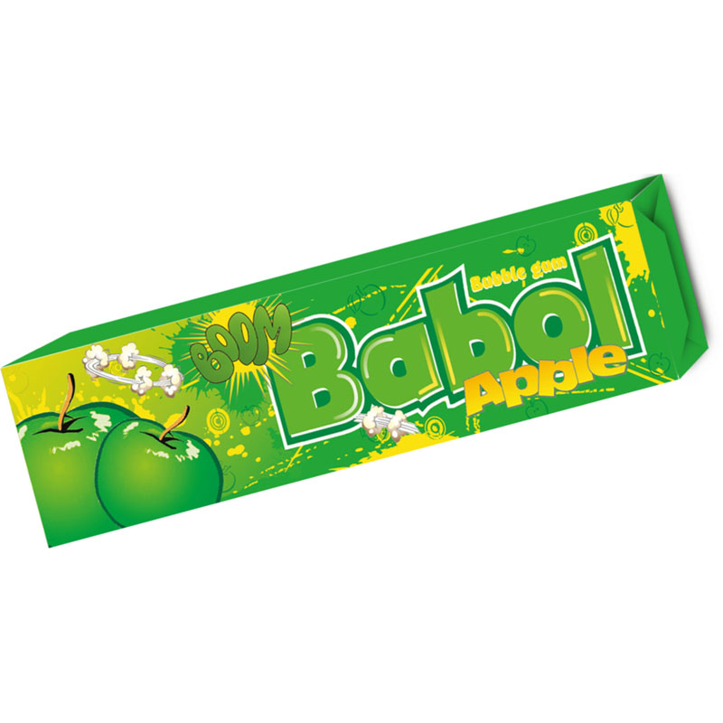 Boom Babol Apple Flavored 5pcs Gum