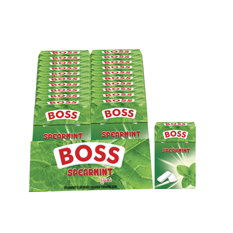 Boss Spearmint Flavored Dragee 15g