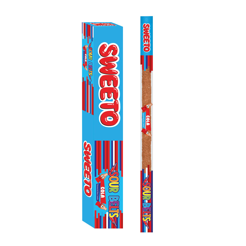 Sweeto Sour Belts Cola 15g