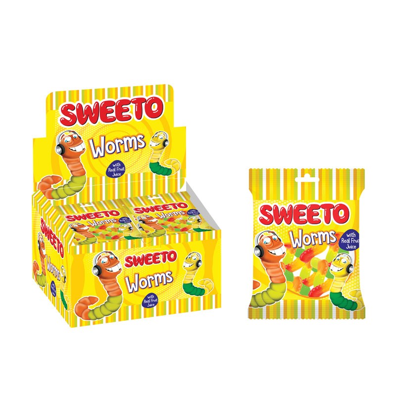 Sweeto Worms 20g